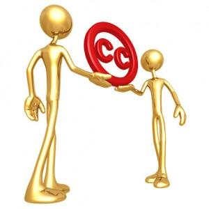 Le logo Creative Commons par Lumaxart