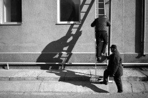 Ladders and shadows (CC-BY)