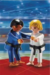 Playmobil judokas