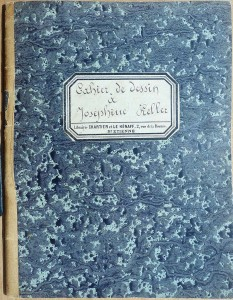 Cahier de dessin de Joséphine Keller (CC-BY)