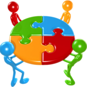 Working Together Teamwork Puzzle Concept, by lumaxart [CC BY-SA 2.0]
