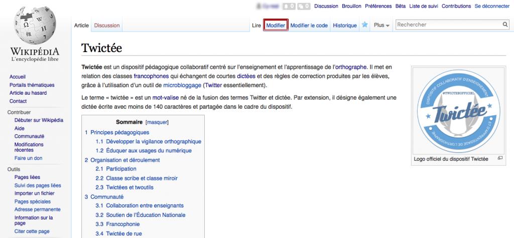 L'article Twictée sur Wikipédia : à lire, à enrichir, à améliorer...